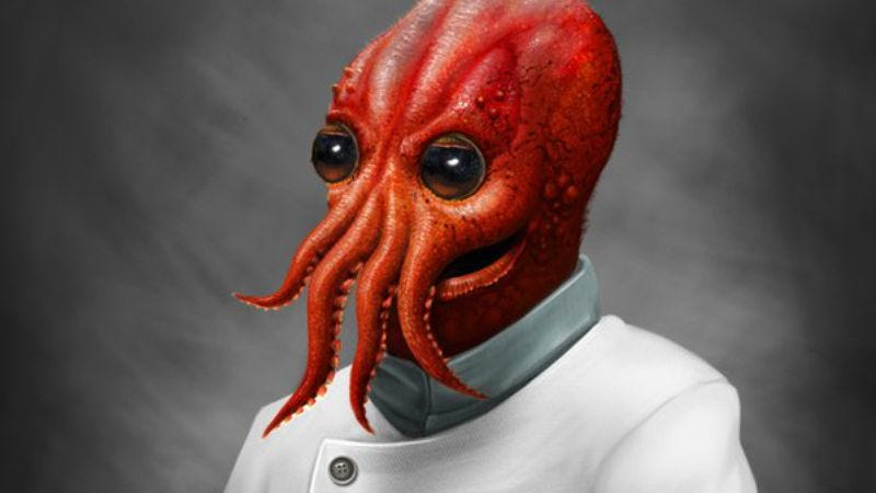 Illustration for article titled Why not (make a life-like costume of) Dr. Zoidberg?