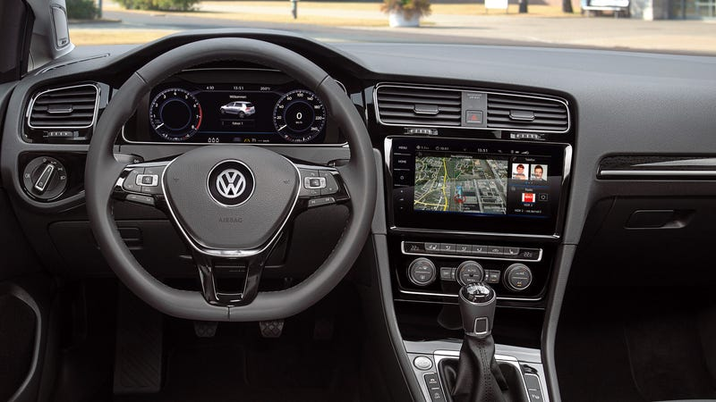The 2018 Volkswagen GTI Just Got An Incredibly High-Tech Interior And Even More Power