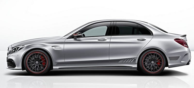 Illustration for article titled The Mercedes-AMG C63 Edition 1 Is Your 503 HP AMG Status Symbol