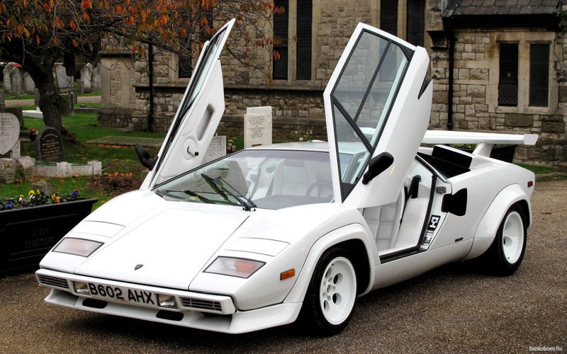 Illustration for article titled If I had a white Countach...