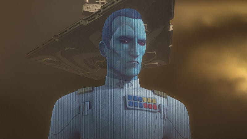 No, not this one. But he's a friend of Thrawn.