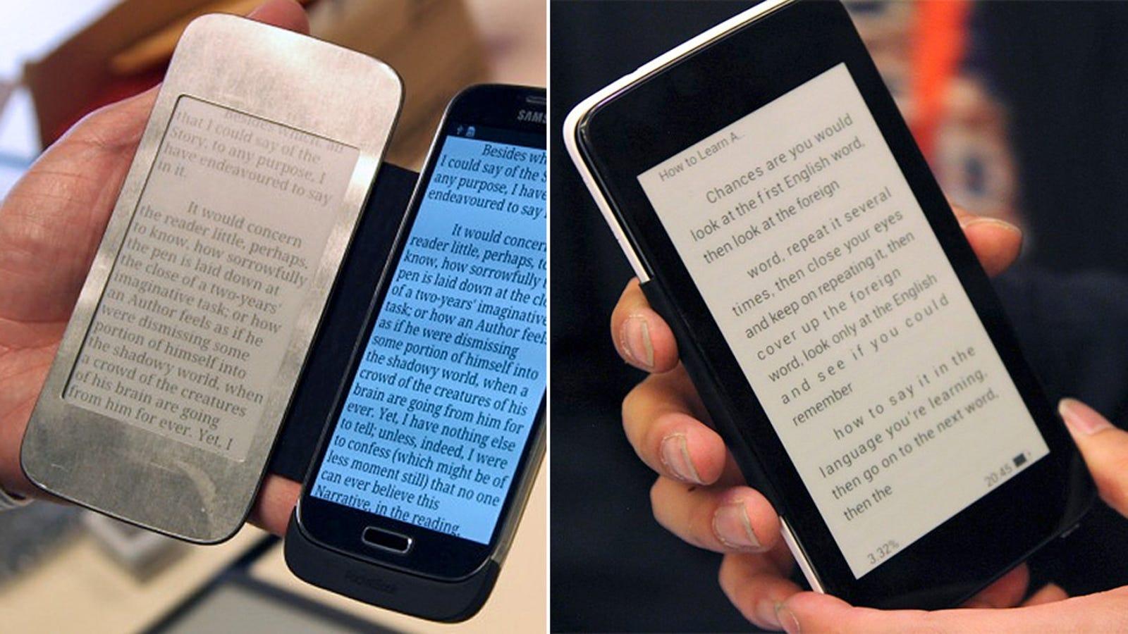 E-Ink Smartphone Flip Covers Are a Wonderful Idea