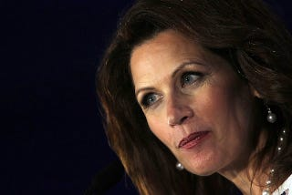 Illustration for article titled Bachmann Not Pro-Slave Family,  Still Pro-Curing Gays