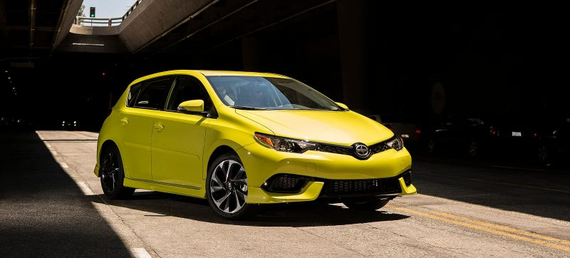 Photo Credit: Scion (RIP). This car, the Scion iM, will wear a Toyota badge again.