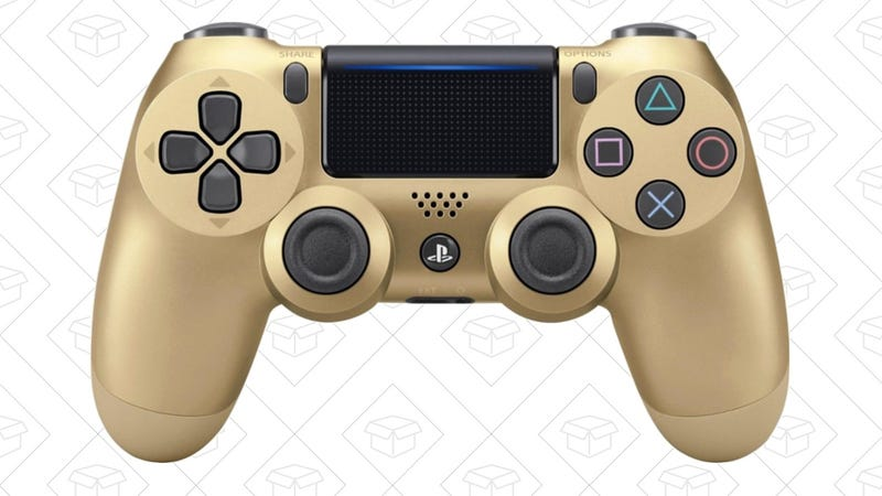 Gold PS4 Controller   $37   Monoprice