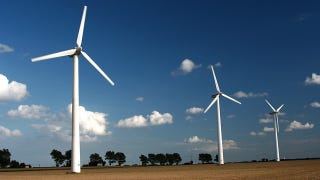 Illustration for article titled Wind Farms Linked to Local Climate Change