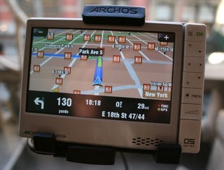 Illustration for article titled Hands On Archos 605 GPS
