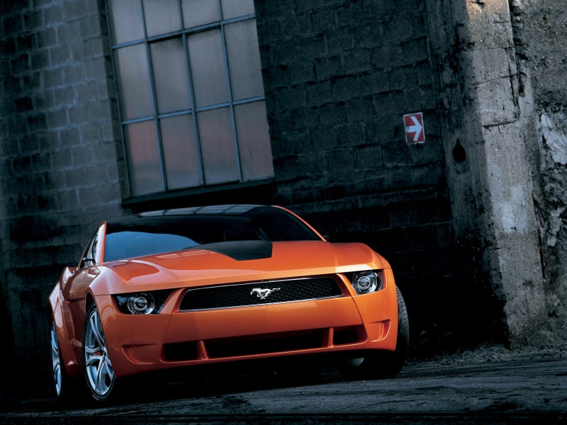 Illustration for article titled Guigiaro Mustang