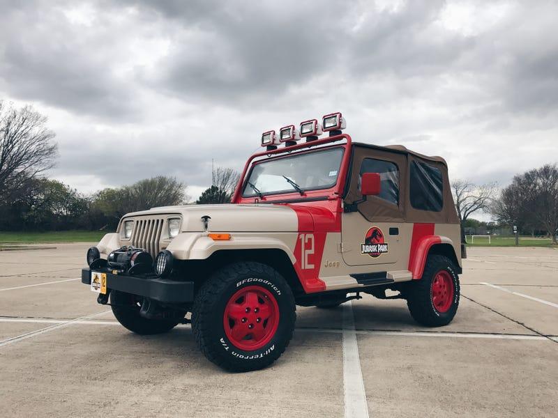 Illustration for article titled Jurassic Park Jeep Update