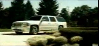 """Illustration for article titled Eminem drove a GM SUV in original """"Lose Yourself"""" music video"""