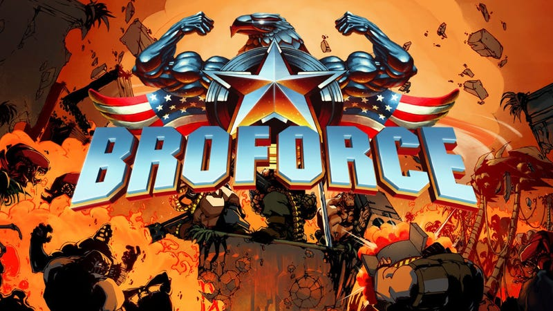 Illustration for article titled PlayStation Plus: Broforce Review