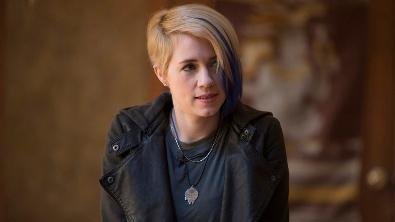 Alice Wetterlund as Carla on Silicon Valley