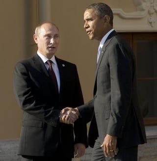 Vladimir Putin and Barack ObamaPABLO MARTINEZ MONSIVAIS/AFP/Getty Images