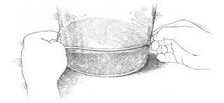 Illustration for article titled See How Much Your Dough Has Risen at a Glance with a Rubber Band