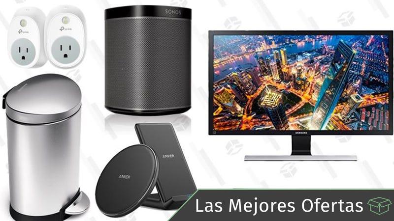 Illustration for article titled Las mejores ofertas de este miércoles: Altavoces Speakers, monitor 4K, cubos de basura de simplehuman y más