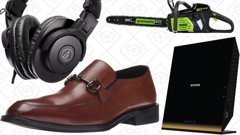 Illustration for article titled Saturday's Best Deals: 802.11ac Router, Dress Shoes, Sugru, and More