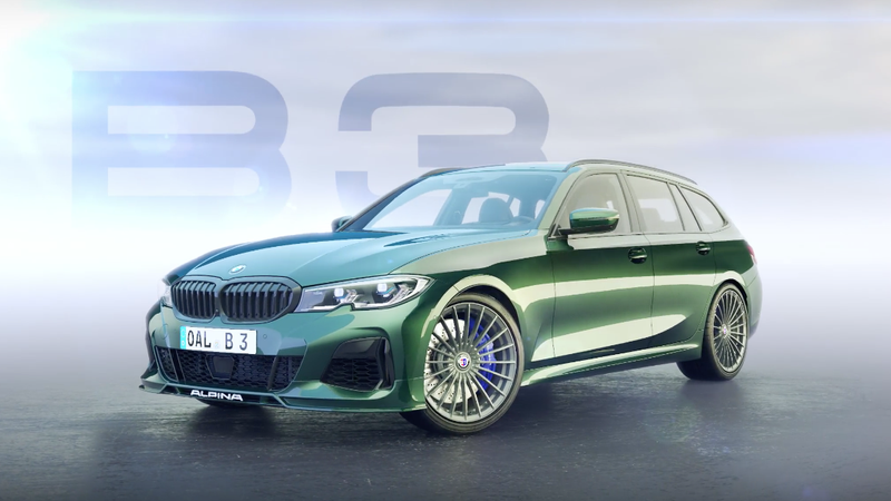 Illustration for article titled The New BMW Alpina B3 Touring Is Another Forbidden Fruit Wagon Powerhouse