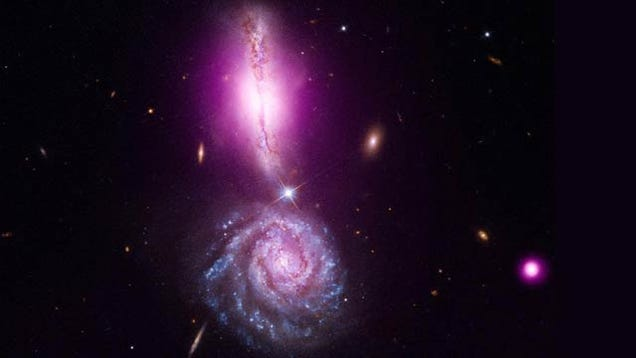 These Galaxies Are About To Crash Into Each Other