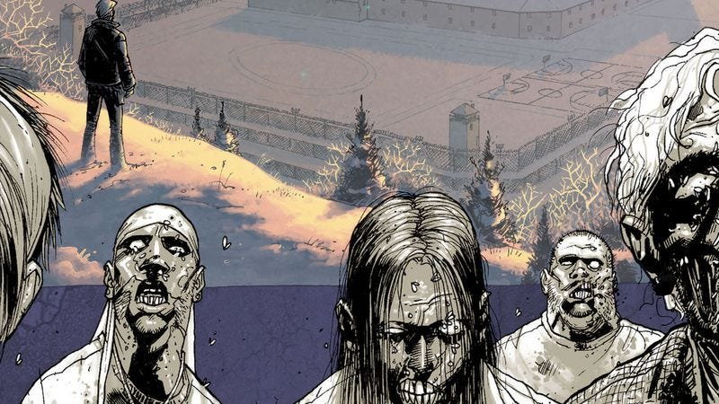 Illustration for article titled Read The Walking Dead along with The A.V. Club: Issues #13-18