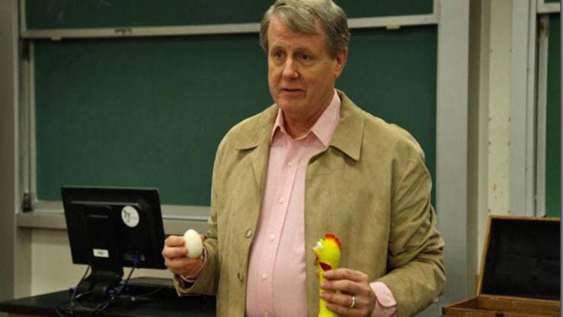 Illustration for article titled Night Court's Harry Anderson to preside over another fake argument in Creationism movie