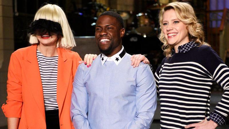 Sia, Kevin Hart, Kate McKinnon (NBC)