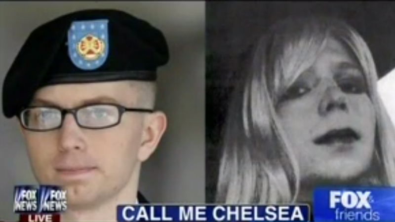 Illustration for article titled Fox & Friends Plays 'Dude Looks Like a Lady' for Chelsea Manning Story