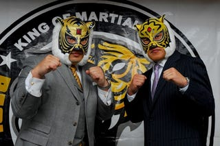 Illustration for article titled An Anime based on the Tiger Mask Wrestler is in the works!