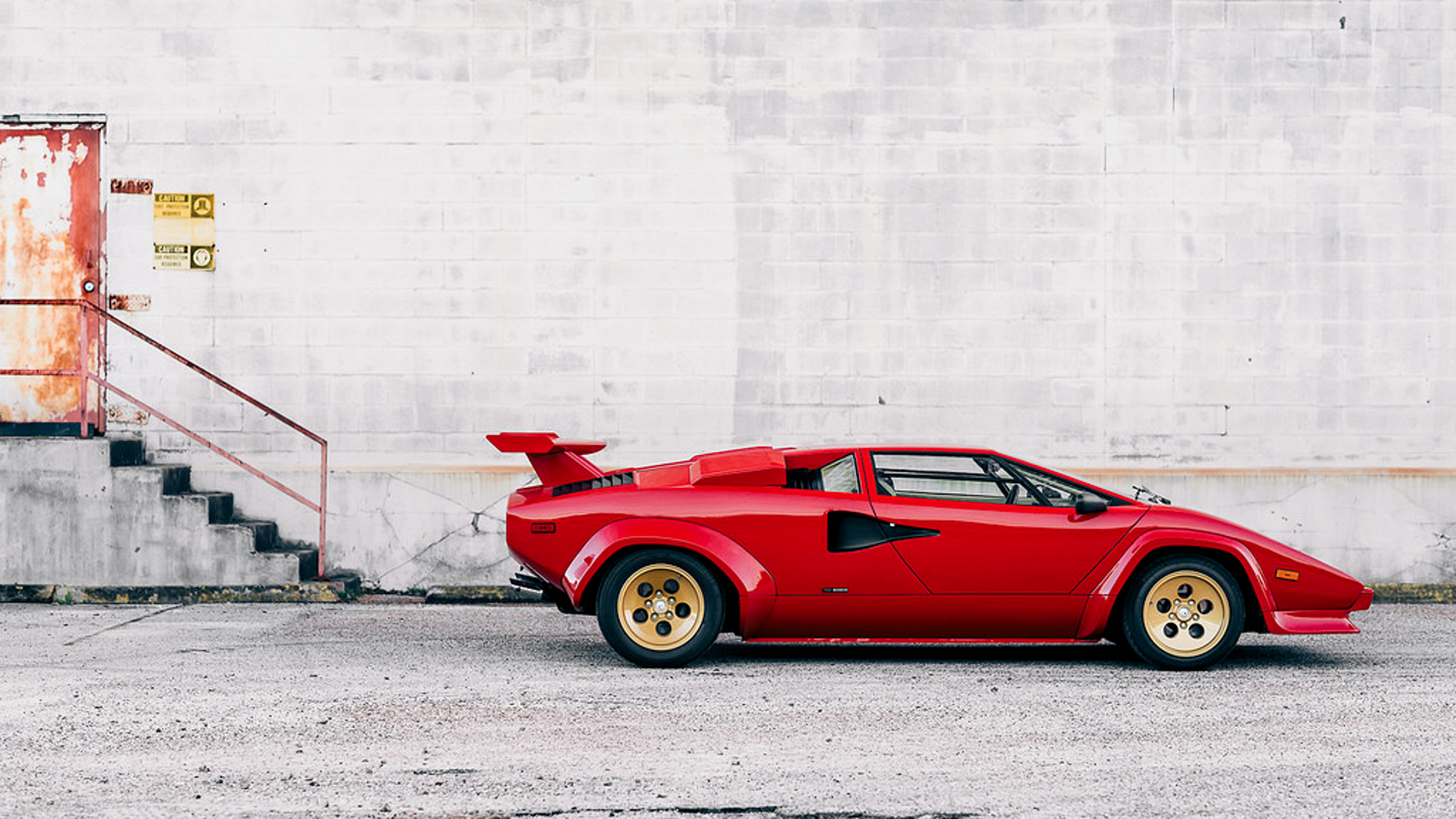 Spotlighting A 1983 Lamborghini Countach Lp500 S