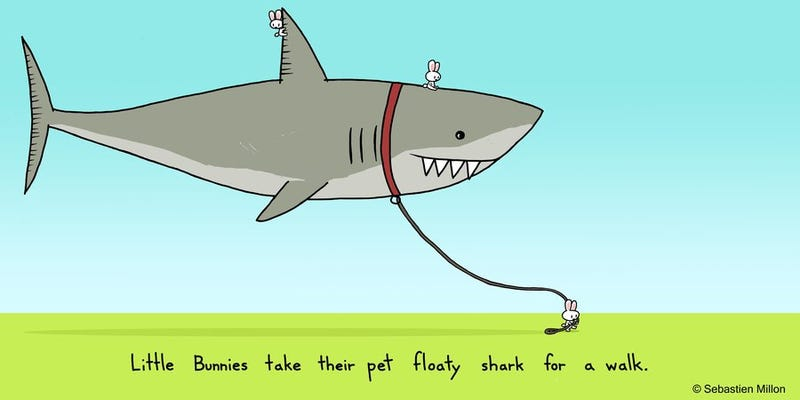 Illustration for article titled You're not a CAHrd shark, are you?*
