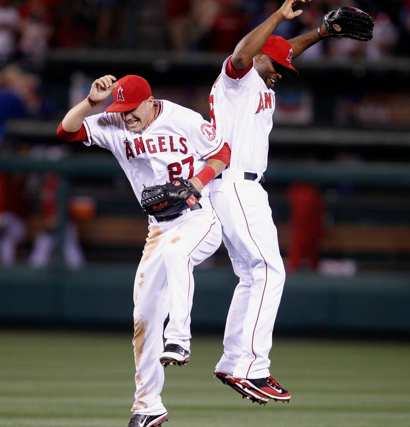"Illustration for article titled Torii Hunter On Mike Trout: ""What You Guys Are Witnessing Is Greatness"""