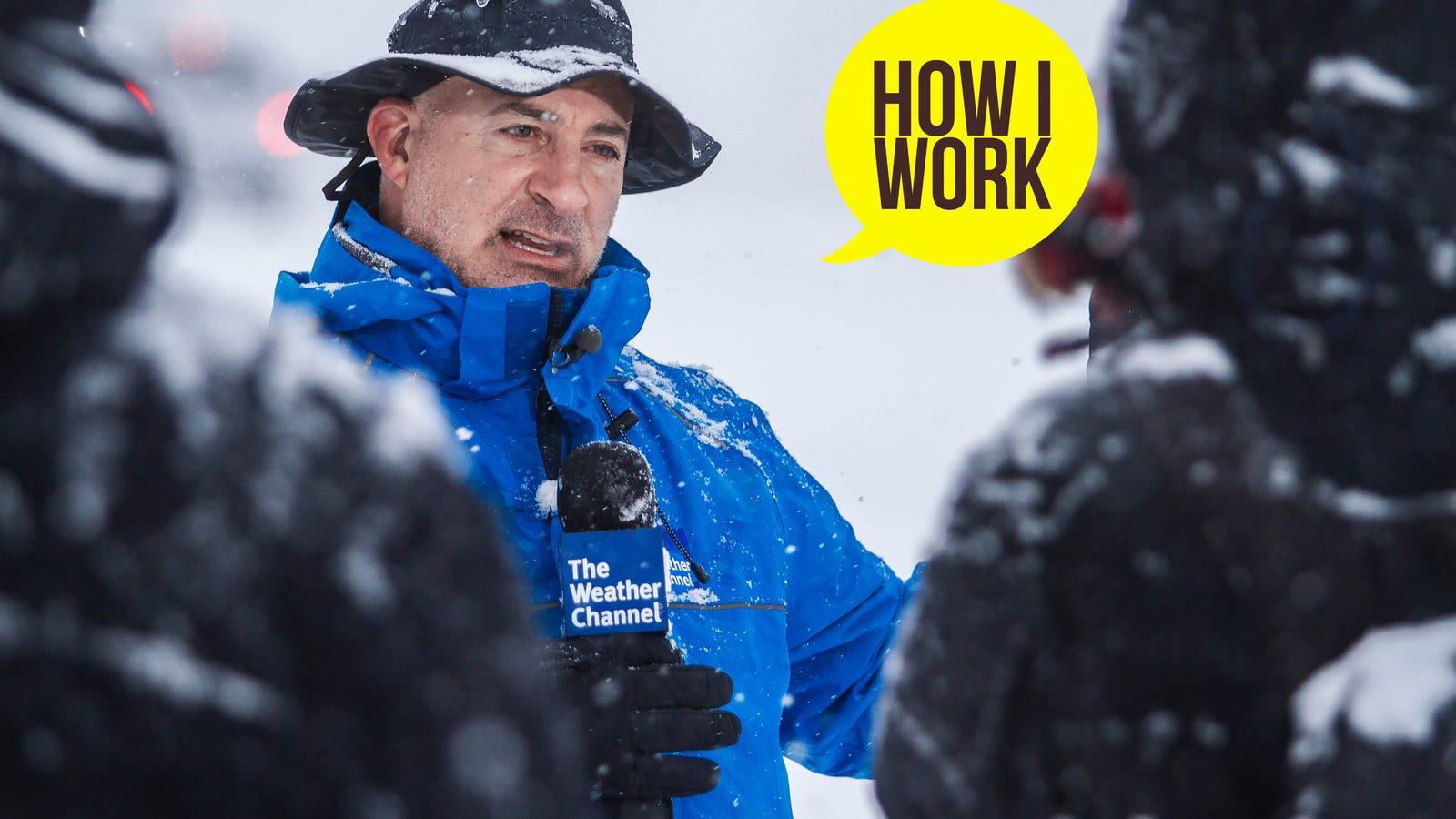 I'm Meteorologist Jim Cantore, and This Is How I Work