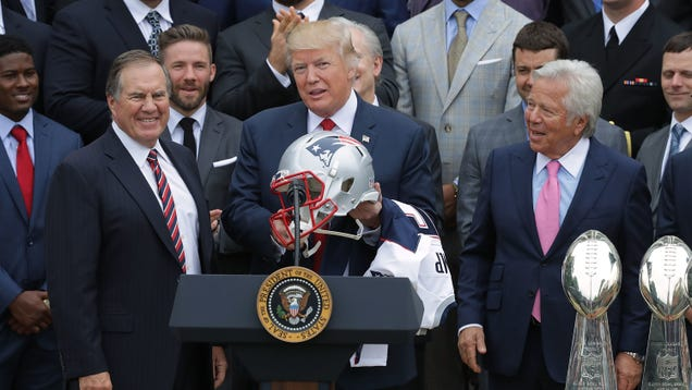 Trump is now suggesting that people should boycott NFL games