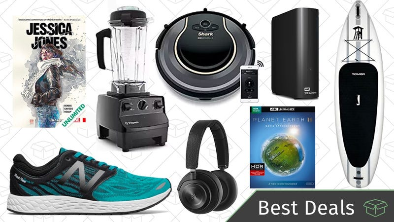 Illustration for article titled Tuesday's Best Deals: Over-Ear Headphones, Vitamix Blender, External Hard Drive, and More