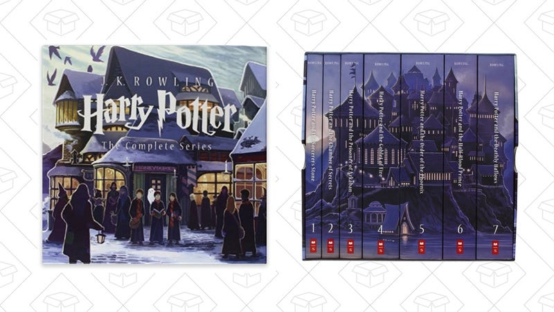 Harry Potter Complete Series Box Set, Paperback, Special Edition, $40