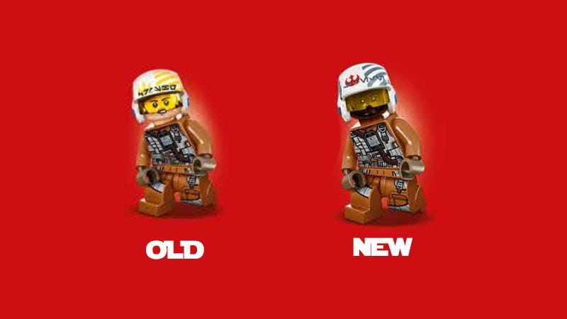 Illustration for article titled LEGO Replaces Generic Star Wars Minifig With Actual Character
