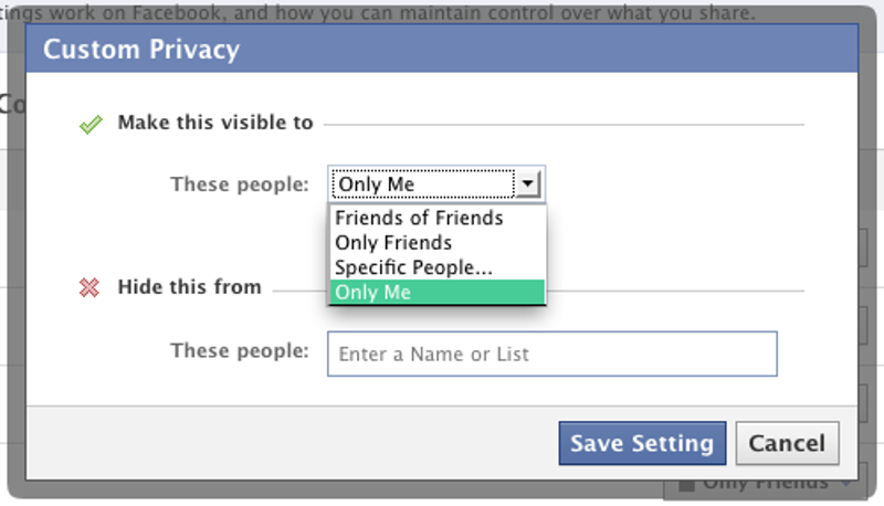 How to quit facebook without actually quitting facebook ccuart Choice Image