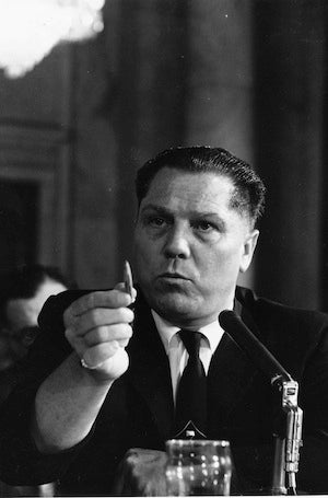 How Jimmy Hoffa Was Buried Under GM's World Headquarters