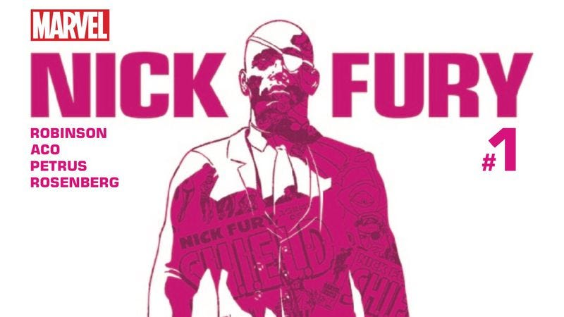 Illustration for article titled Nick Fury starts a stunning new solo adventure in an exclusive Marvel preview