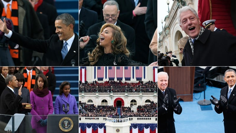 Illustration for article titled Pomp and Pageantry: Scenes From Today's Inauguration