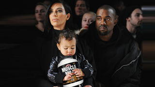 Illustration for article titled Kim Kardashian Hired a Personal Trainer for Two-Year-Old North