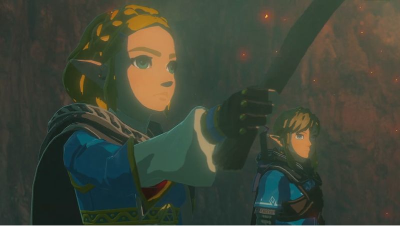 Illustration for article titled Breath Of The Wild Sequel Producer Won't Say If You Can Play As Zelda
