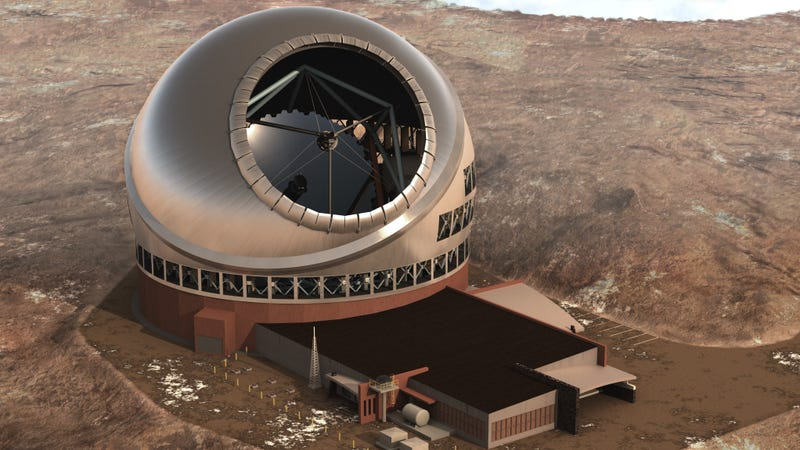 This is what the Thirty Meter Telescope should look like.