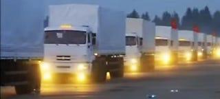 Illustration for article titled Russia's Massive Mystery Convoy & A Phantom Battle Inside Ukraine