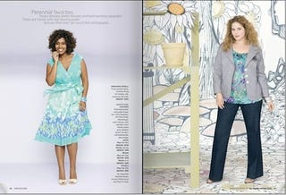 "Illustration for article titled Nordstrom Catalog Quietly Includes ""Plus Sized"" Models, Separately"