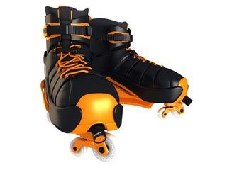 Illustration for article titled Super Inline 720 Skates Let SK8Rz Go Sideways and Spin