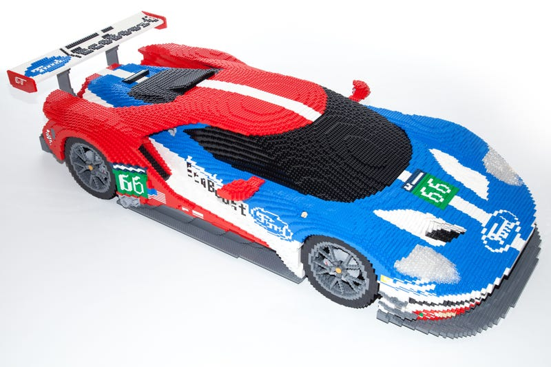 This Is How You Turn 40,000 Legos Into A Ford GT