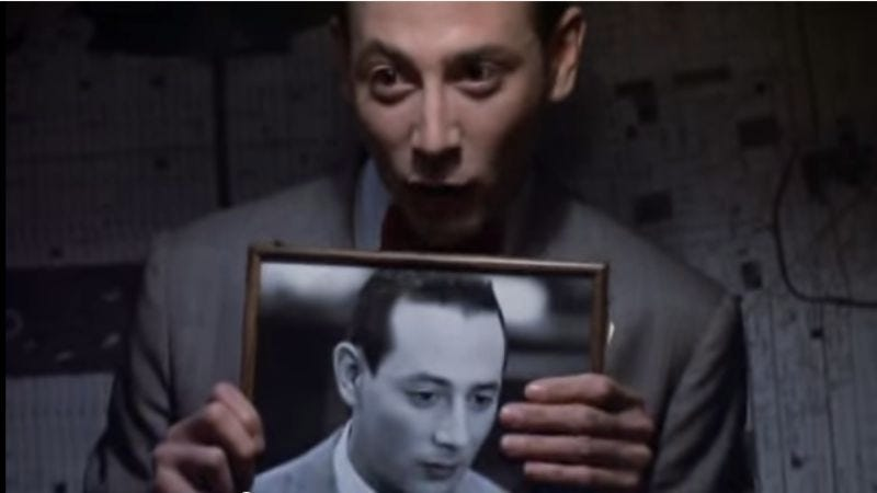 Illustration for article titled Paul Reubens doesn't make monkeys—but he might make a new Pee-wee Herman movie in February