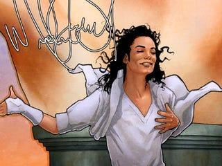 Illustration for article titled Michael Jackson Stars in Graphic Novel