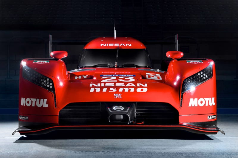 The Nissan GTR LM Nismo Is A FrontWheelDrive 1250hp Le Mans Racer