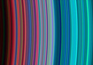 Illustration for article titled Saturn's Rings Are Even Weirder (And Prettier) Up-Close